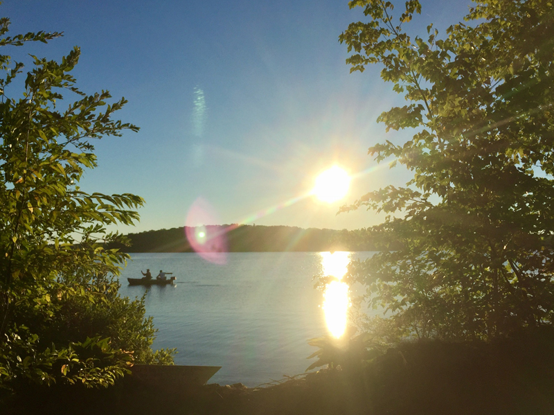 Annabessacook Lake in Monmouth Maine